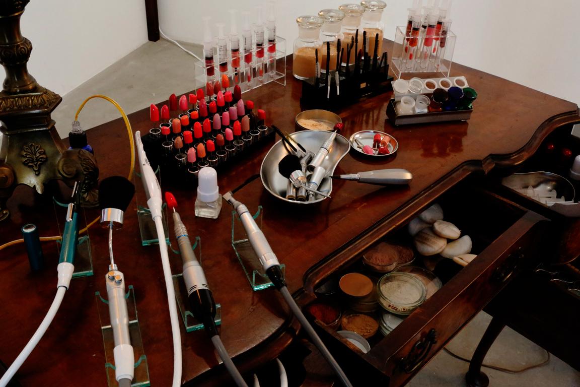 naturalmakeup-exhibition|TOMOMI NISHIZAWA